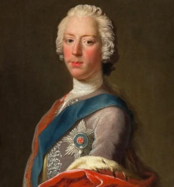 Charles Stuart par Allan Ramsay en 1745 - Scottish National Portrait Gallery