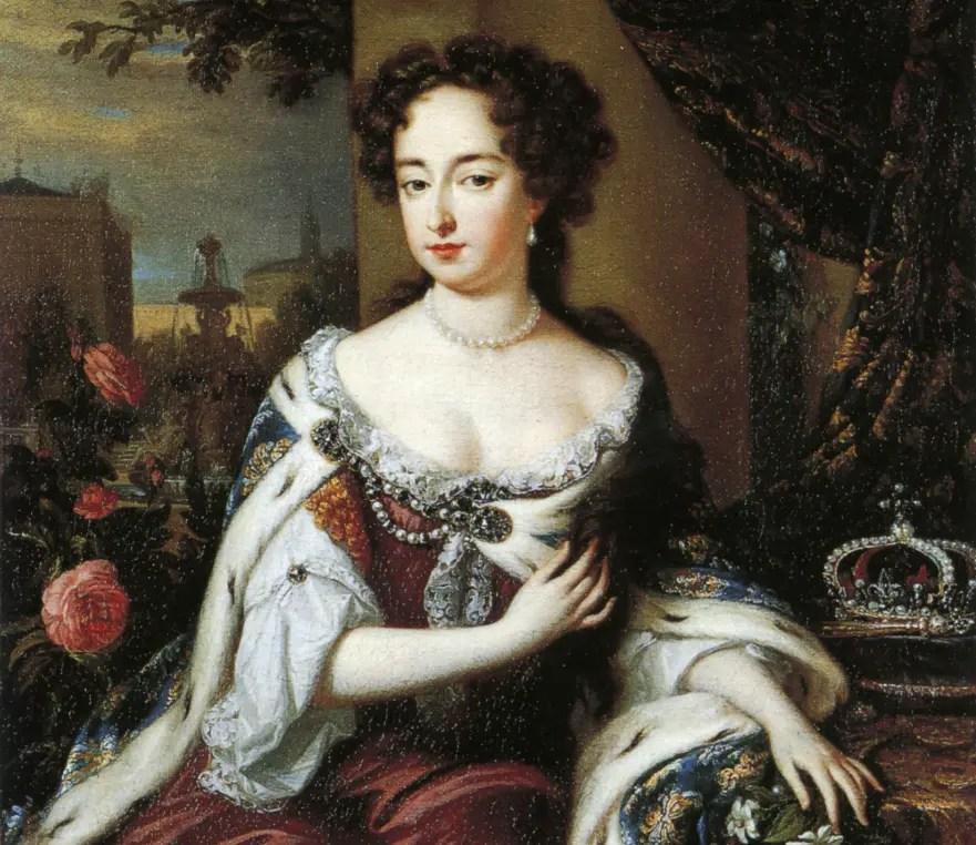 Mary II Stuart par Jan Verkolje en 1685 - National Portrait Gallery