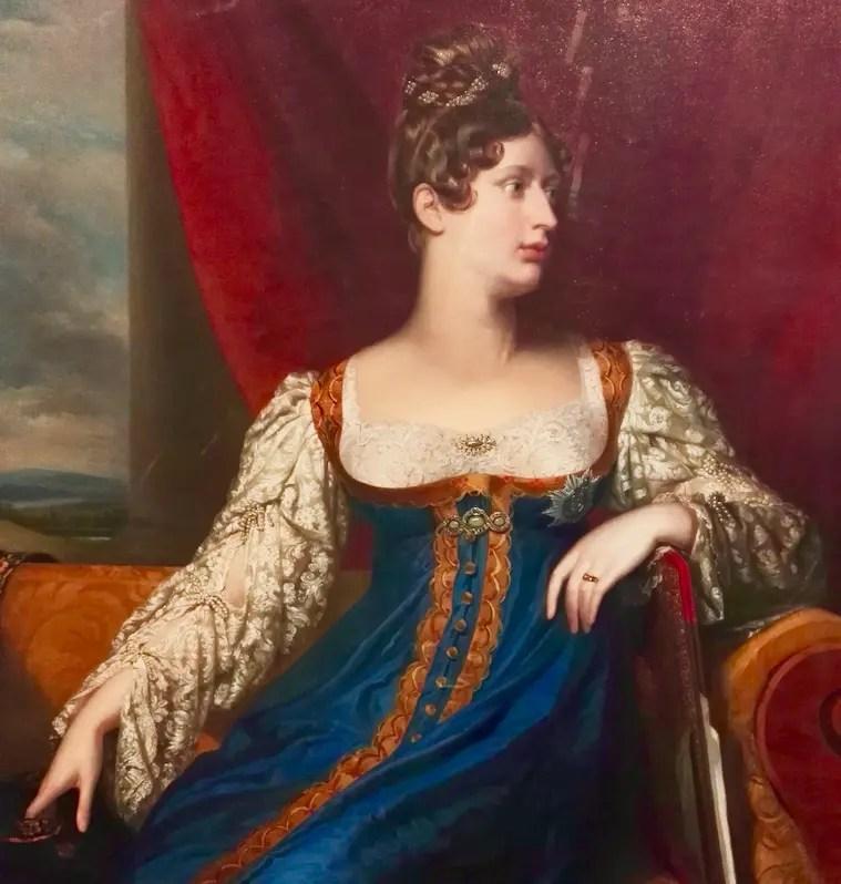 la princesse Charlotte de Galles en 1817 par George Dawe Portrait Gallery