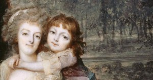 Marie-Antoinette, maman moderne