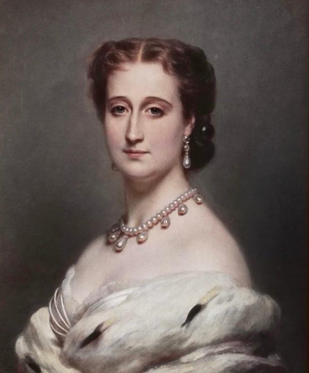 L'impératrice Eugénie par Franz-Xaver Winterhalter en 1864 (château de Compiègne)