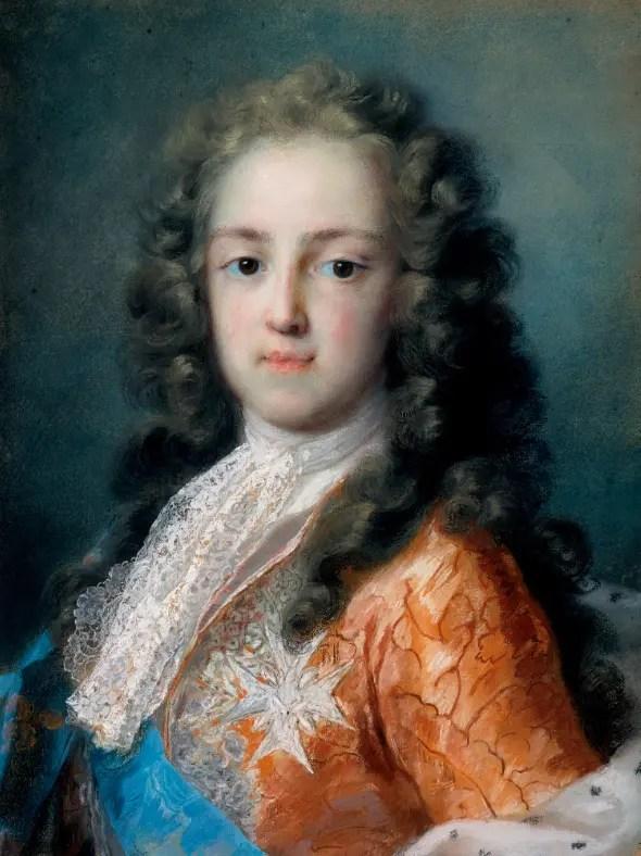 Pastel du jeune Louis XV par Rosalba Carriera