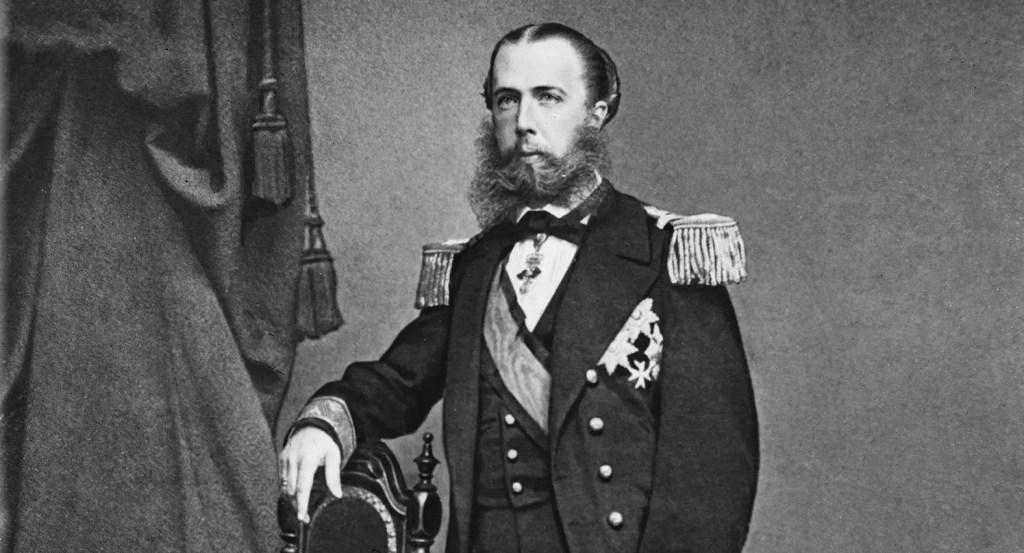 Maximilien de Habsbourg empereur du Mexique en 1864