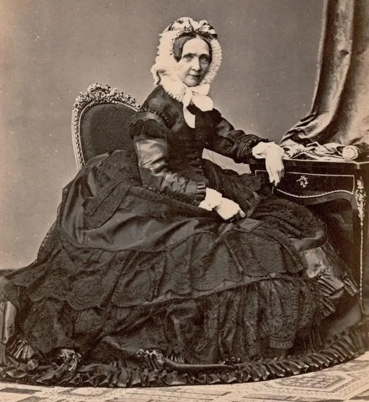 L'impératrice douairière Sophie, mère de François-Joseph et Maximilien, en 1866