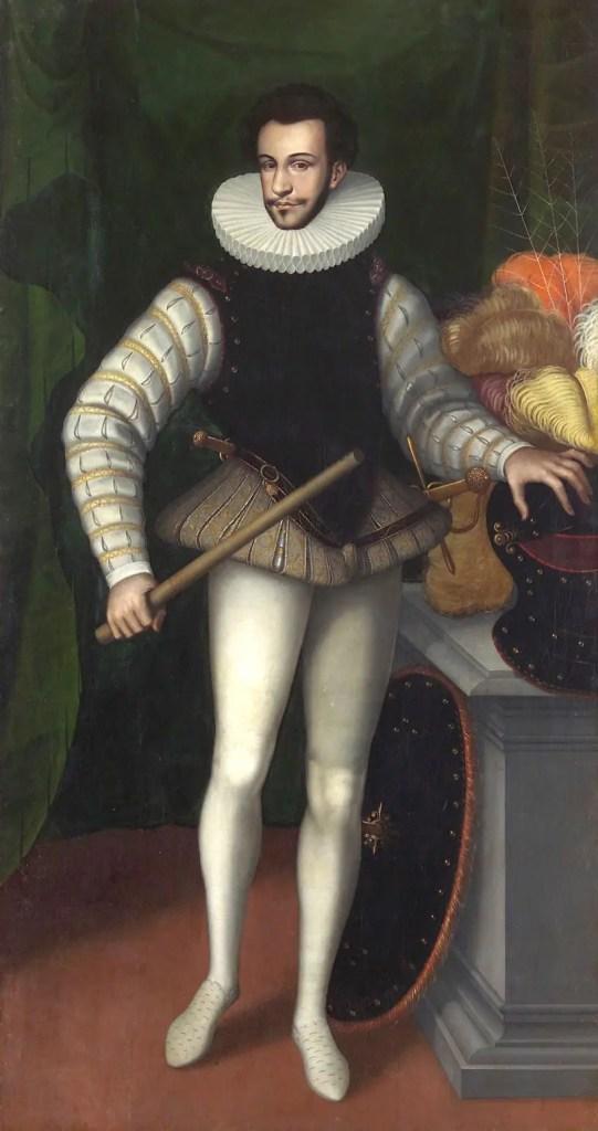 Le duc d'Alençon vers 1580 - Anonyme - Musée d'histoire de l'art de Vienne