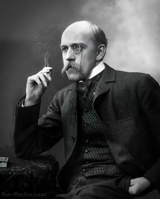 Le poète et homme de lettres Henri de Régnier, grand ami de la comtesse de Béhague