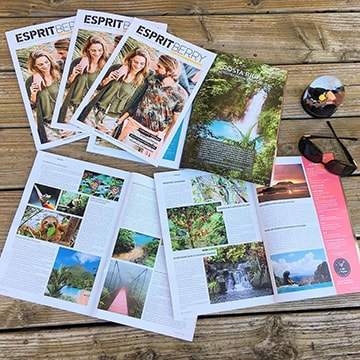 Magazine Esprit Berry avec article de Claire Pimenta de Miranda