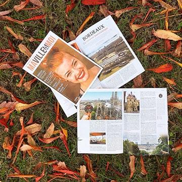 Magazine MaVilleAMoi avec article de Claire Pimenta de Miranda