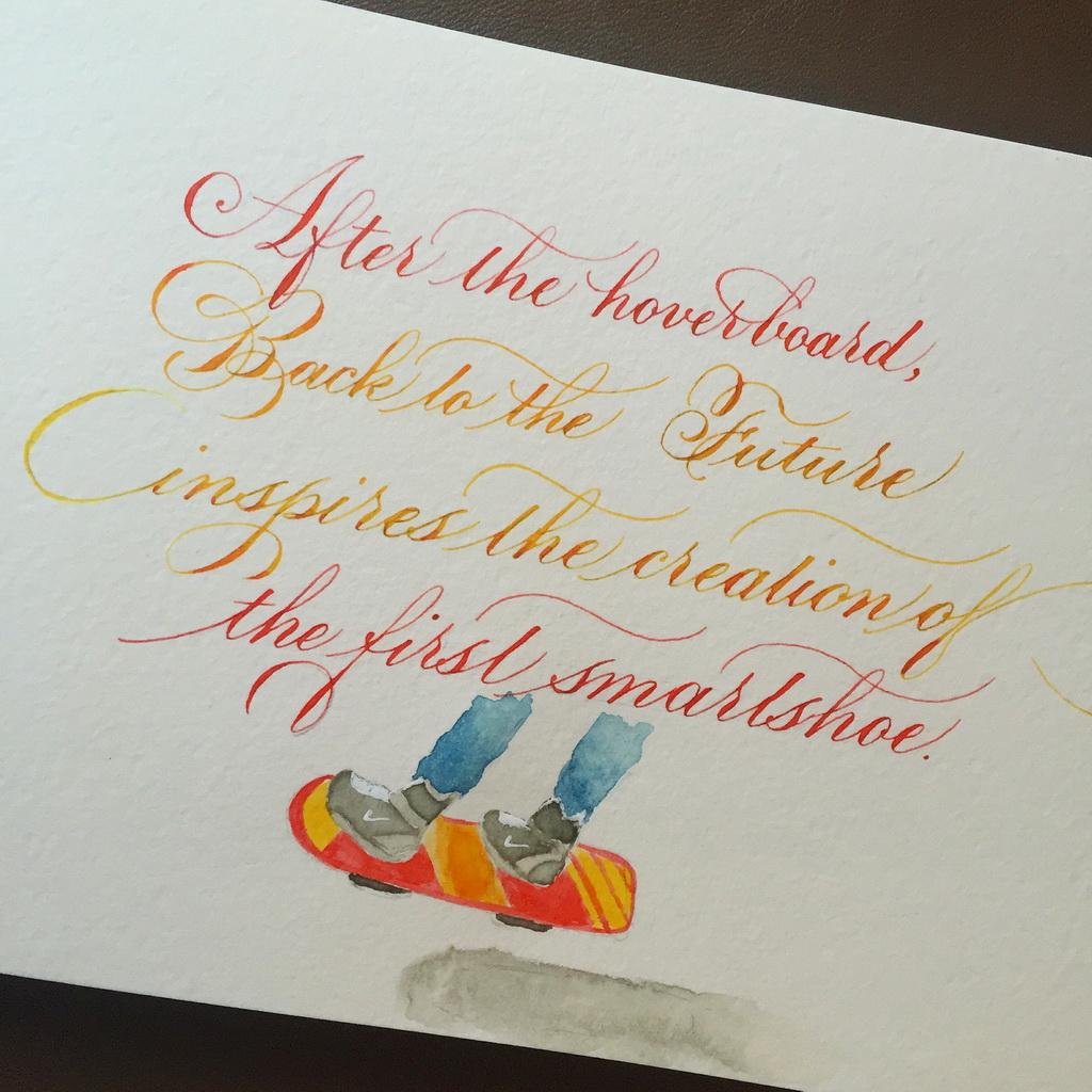 Calligraphie : retour vers le futur