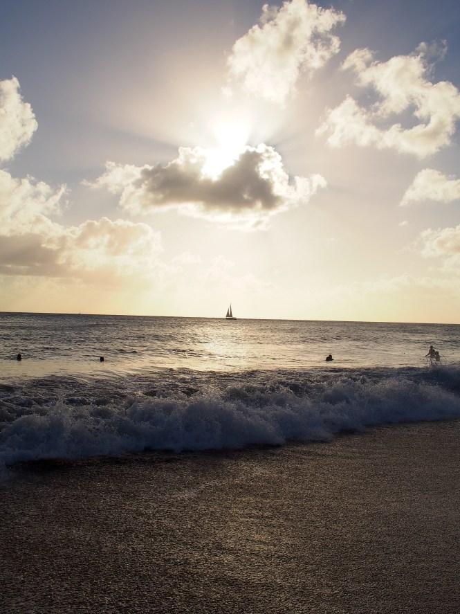 Martinique voilier soleil