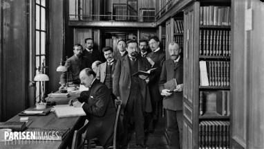 La Sorbonne : la bibliothèque, salle des Périodiques