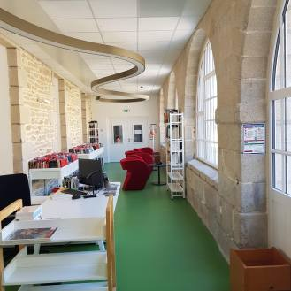 Médiathèque Jeanne-Nabert, Pont-Croix