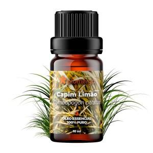 Capim-Limão Orgânico 10ml <br /><i>(Cymbopogon flexuosus)</i>
