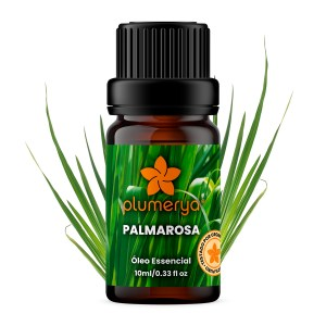 Palmarosa Orgânica 10ml<br /><i>(Cymbopogon martinii)</i>
