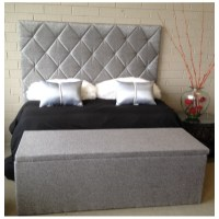 Queen Size Upholstered Bed head Upholstered Headboard ...