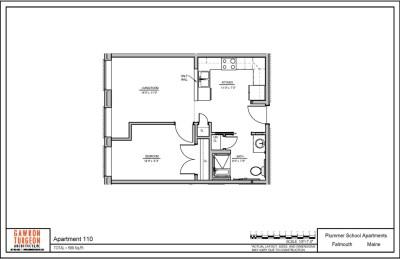 Plummer School Apartment Floor Plans 110