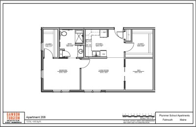 Plummer School Apartment Floor Plans 208