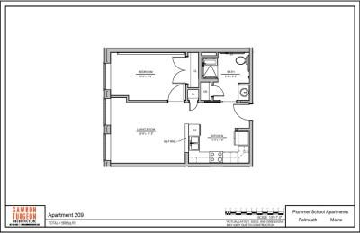 Plummer School Apartment Floor Plans 209