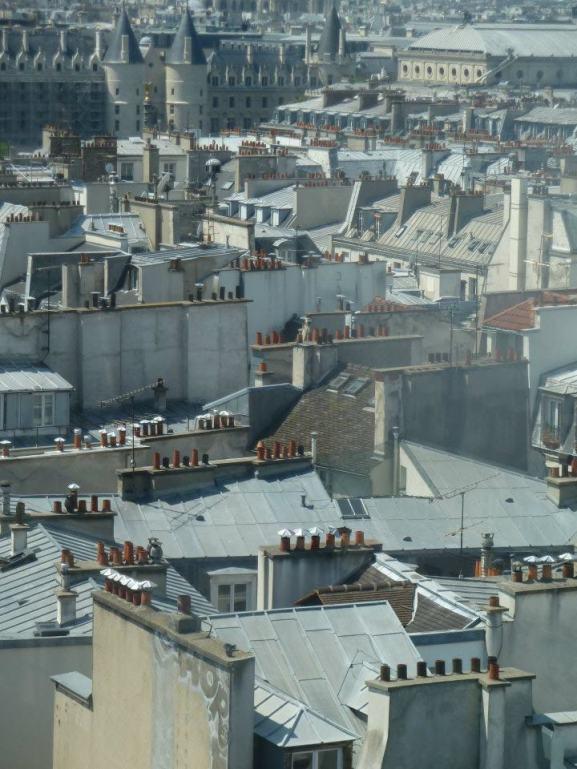 Toits de Paris - Centre Pompidou