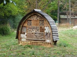 """""""Hôtel à abeilles"""", Jardin des Plantes"""