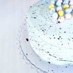 Cadbury Mini Egg Speckled Easter Cake