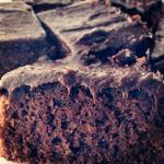 Healthy Gluten Free & Dairy Free Fudge Brownies