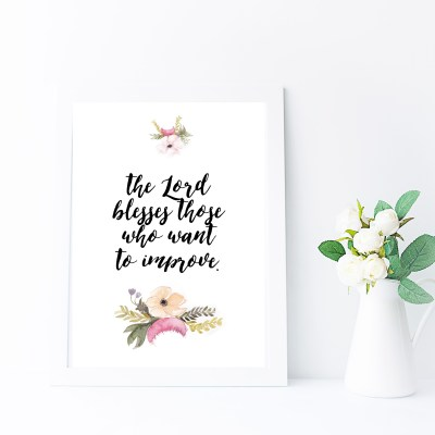 Floral Printable Quotes