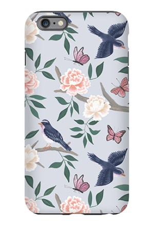 Soft Blue Chinoiserie Phone Case - Caitlin Wilson Line