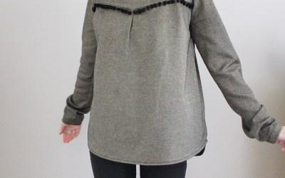 Une petite laine pour le patron de la blouse Budapest