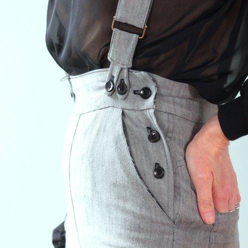 patron de couture salopette terebell version grise