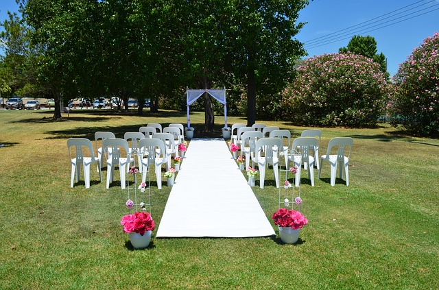 tapis de cérémonie laïque