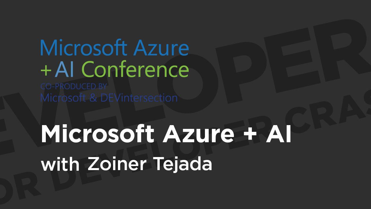 Deep Learning for Developer Crash Course. Part 1: Microsoft Azure + AI Conference 2019 | Pluralsight