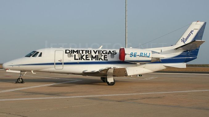 Dimitri Vegas and Like Mike Private Jet