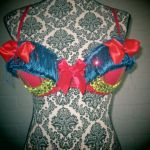 Snow White Rave Bra