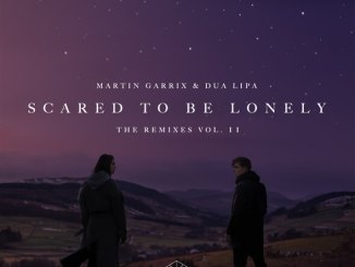 Martin Garrix Dua Lipa Scared to be lonely Remixes Vol 2 cover
