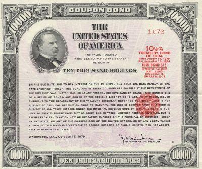 bonds du trésor américain