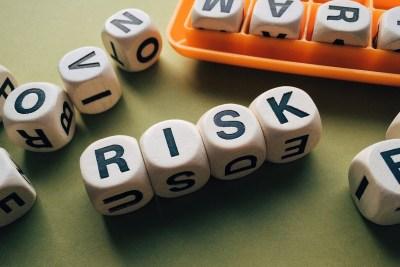 risk risques dés image