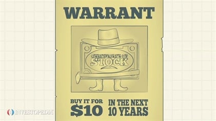 warrants en bourse