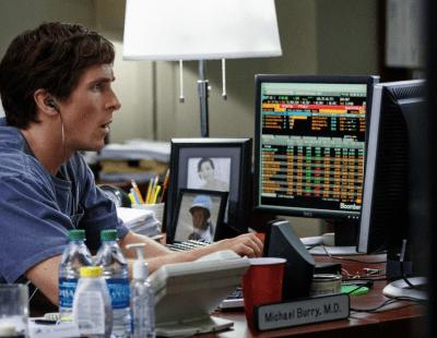 Christian Bale Michael Burry The big short