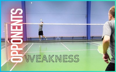 Opponent´s weakness – a big threat