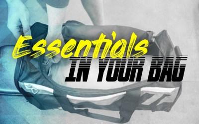 Essentials in your badminton bag