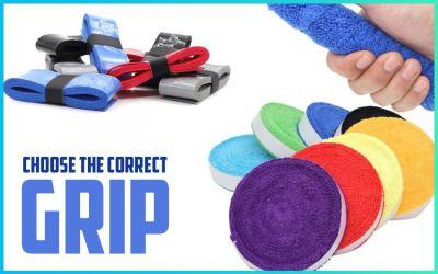 Choosing the right badminton grip