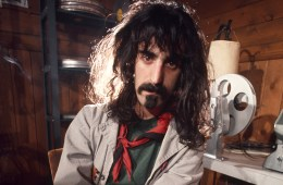 LOS ANGELES, CA - MARCH 25:  Singer songwriter Frank Zappa poses for a portrait in the editing room of his Laurel Canyon home on March 25, 1972 in Los Angeles, California. (Photo by Ed Caraeff/Getty Images)