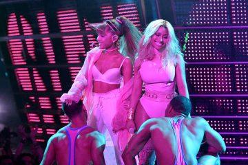 Ariana Grande. Nicki Minaj. Side to Side. Video Music Awards. MTV. Cúsica Plus.