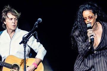 Paul McCartney. Rihanna. Four Five Seconds. En vivo. Desert Trip. Cúsica Plus