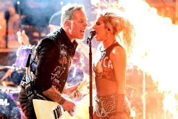Lady Gaga y Metallica seguirán colaborando. Cusica plus