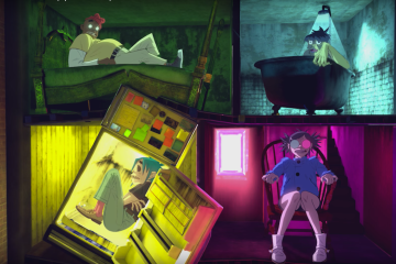 Gorillaz estrena cuatro temas y video 360. Cusica plus