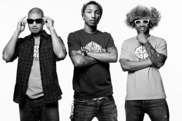 Pharrell confirma reunión del grupo N.E.R.D para este año. Cusica plus.
