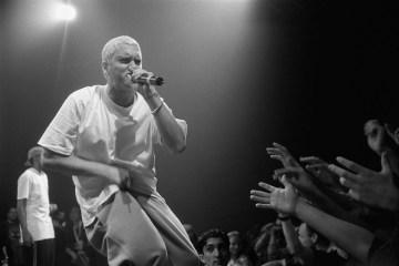 Eminem podría estrenar parte de su nuevo disco en MTV Europe Music Awards. cusica plus.