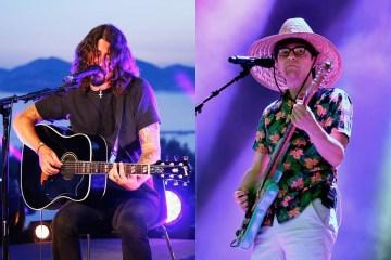 Foo Fighters y Weezer comparten tarima para un tema de Kiss. Cusica Plus.